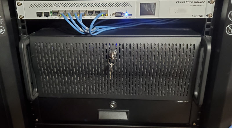 Router, VM Host, Pi Project Drawer